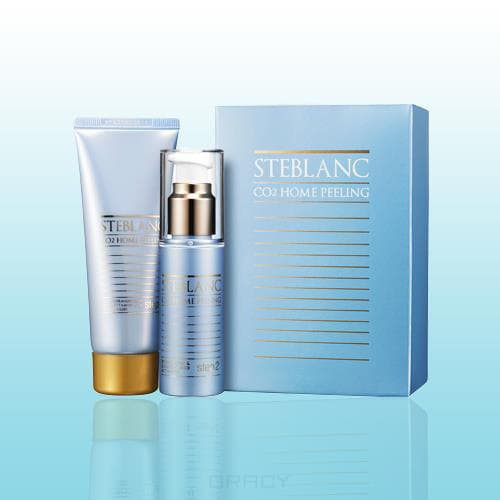 Steblanc, Двухфазный пилинг для лица CO2 Home Peeling Collagen Firming, 50 + 50 мл 36EA цена