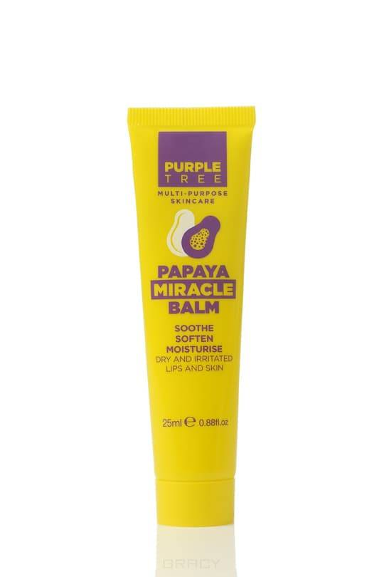 Purple Tree, Бальзам для губ Папайя Miracle Balm Papaya, 25 млДля губ<br><br>