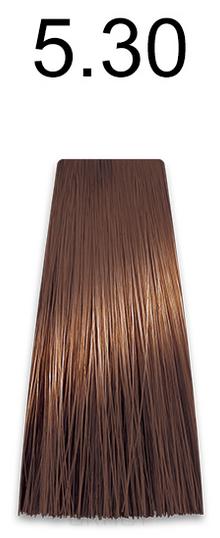 Купить Kaaral, Стойкая безаммиачная крем-краска с гидролизатами шелка Baco Soft Ammonia Free, 60 мл (42 оттенка) 5.30 светлый золотистый каштан