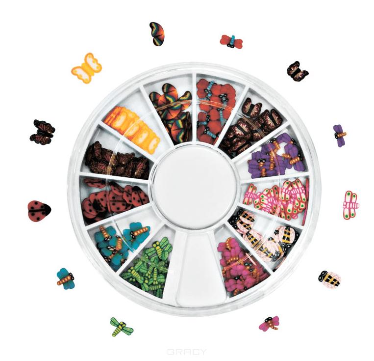 Planet Nails, Фимо декор в нарезке (карусель 8 видов) Фимо декор в нарезке (карусель 12 видов)Дизайн дл ногтей<br><br>