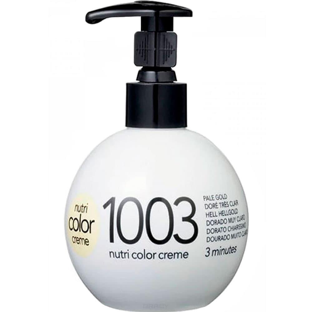 Revlon, Крем-краска для волос 3 в 1 Nutri Color Creme, (52 оттенка) 1003 Очень светлый золотой краска для волос колор кроссворд 5 букв