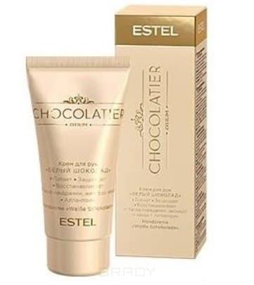 Фото - Estel, Chocolatier Крем для рук Белый шоколад Эстель White Hand Cream, 50 мл estel крем для рук белый шоколад chocolatier 50 мл