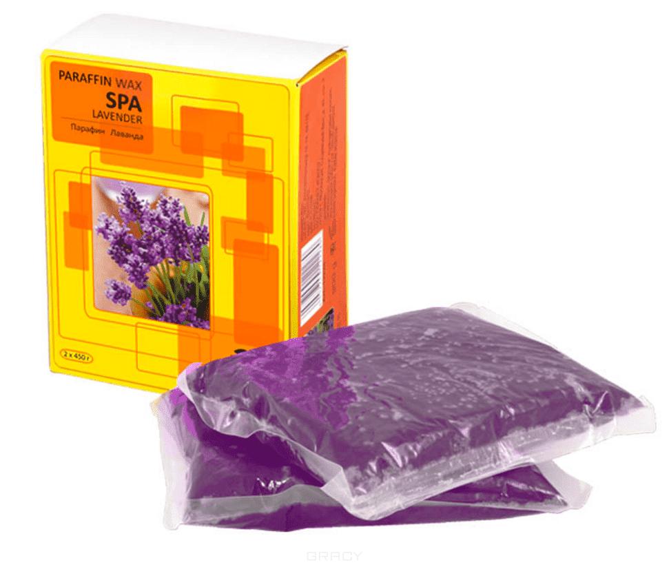 Парафин лаванда 900гр (2шт по 450гр в упаковке) Планет Нейлс крем парафин аравия лаванда