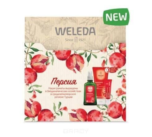 Weleda, Подарочный набор Персия, 200/100/10 мл цена 2017