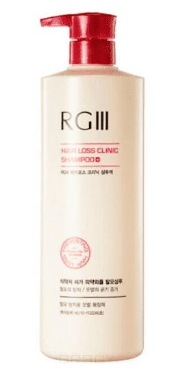 Шампунь против выпадения волос Эр Джи 3 RGIII Hair Loss Clinic Shampoo, 520 мл шампунь с кератином kerasys hair clinic system moisture shampoo 600g