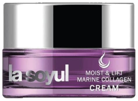 Купить La Soyul, Moist And Lift Marine Сollagen Cream Крем для лица с морским коллагеном, омолаживающий, 50 мл
