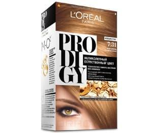 LOreal, Краска для волос Prodigy (23 оттенка), 265 мл 7.31 КарамельОкрашивание<br><br>