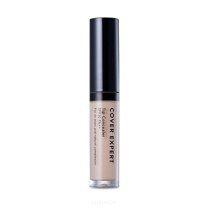 Жидкий консилер Кавер Эксперт Cover Expert Tip Concealer SPF30 PA++, 4 мл (3 оттенка) жидкий консилер isadora cover up long wear cushion concealer