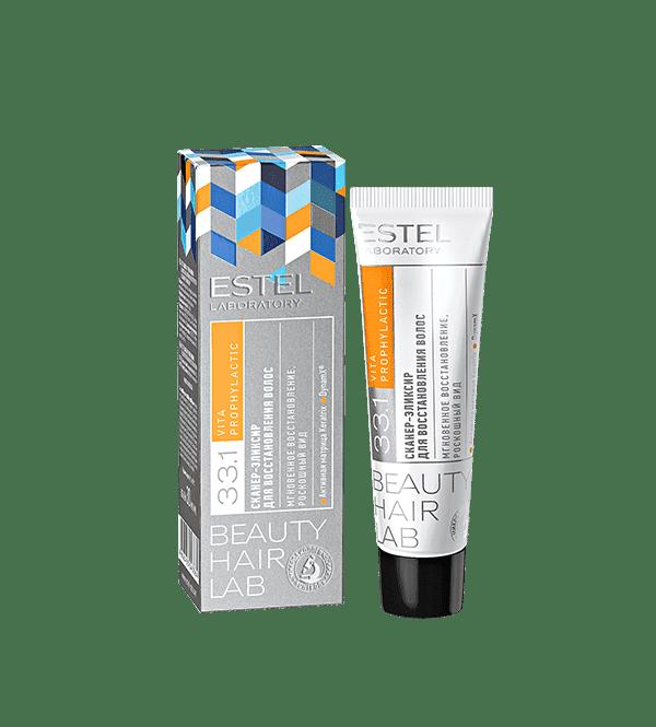 Купить Estel, Beauty Hair Lab Сканер-эликсир для восстановления волос Эстель, 30 мл