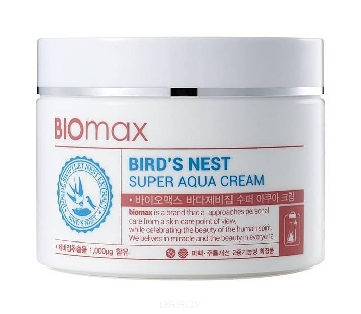 Купить Biomax, Крем для лица с экстрактом ласточкиного гнезда Bird's Nest Super Aqua Cream, 100 мл