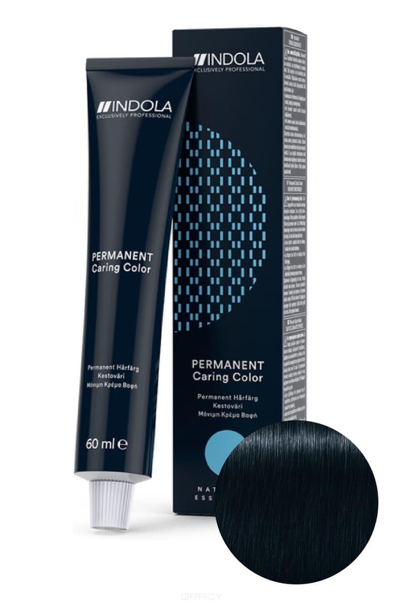 Indola, Индола краска для волос профессиональная Profession, 60 мл (палитра 141 цвет) 1.1 черный пепельный