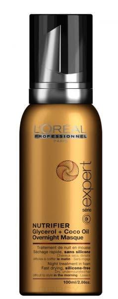 LOreal Professionnel, Маска ночна дл сухих волос Serie Expert Nutrifier, 100 млNutrifier - питание без утжелени<br><br>