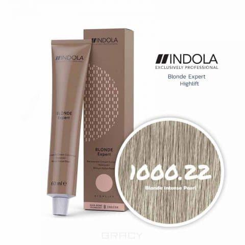 Купить Indola, Индола краска для волос профессиональная Profession, 60 мл (палитра 141 цвет) Блонд Эксперт 1000.22 блондин золотистый натуральный