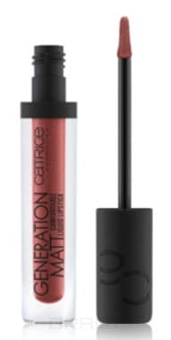 Catrice, Жидкая матовая помада для губ Generation Matt Comfortable Liquid Lipstick (10 оттенков) 020 The Metalist