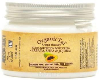 Купить Organic Tai, Крем для тела Aroma Therapy Extra Nutrition Body Cream Papaya, Shea & Jojoba , 150 мл