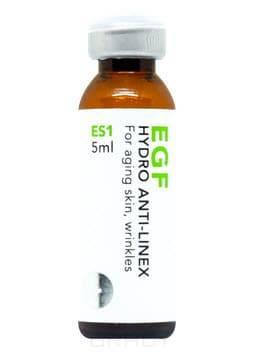 Биопептон anti-age концентрат для лифтинга, разглаживания морщин и укрепления кожи EGF Hydro Anti-Linex ES1-1, 5 мл balance med esthetic пептидный полифункциональный концентрат для реструктурирования и лифтинга кожи fine contour anti age 5 мл