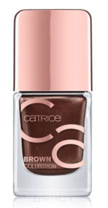 Catrice, Лак для ногтей Brown Collection Nail Lacquer (4 оттенка), 1 шт, 01 молочный шоколад лак для ногтей catrice travelight story nail lacquer c01 цвет c01 chilly orange variant hex name e9533e