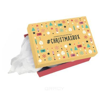 Фото - Подарочная коробка Crisrmas box, размер L (240х170х100) Холика Холика пенал dakine lunch box 5 l augusta