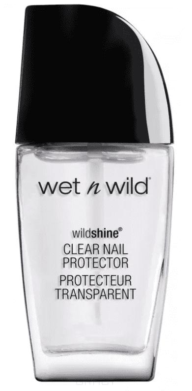 Wet n Wild, Лак для ногтей  Shine, 12.7 мл (3 оттенка), E450b clear nail protector, .