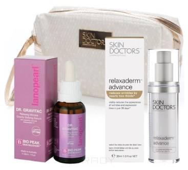 Skin Doctors, Набор Релакс эффект: DR.Gravitac 30 мл. + Relaxaderm™ Advance 30 мл. + КОСМЕТИЧКА