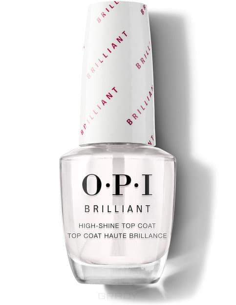 Фото - OPI, Верхнее покрытие с бриллиантовым блеском «OPI Brilliant Top Coat», 15 мл opi top coat покрытие верхнее закрепляющее 15 мл
