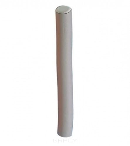 Comair, Бигуди длинные 254 мм, 6 шт Серые, D 17 ммБигуди<br><br>