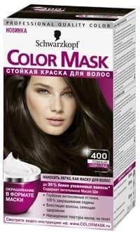 Schwarzkopf Professional, Краска для волос Color Mask, 60 мл (16 оттенков) 400 Темный шоколадОкрашивание<br>Краска Schwarzkopf Color Mask   уникальная разработка для окрашивания и ухода за волосами<br> <br>Краска для волос Color Mask – уникальная разработка немецкой компании Schwarzkopf. Продукт имеет консистенцию маски, что повышает его эффективность и упрощает ...<br>