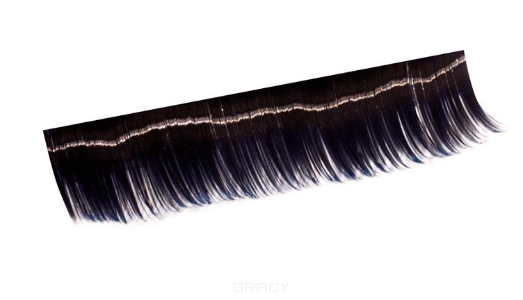 Planet Nails, Ресницы на полосках синие, 10 пол (6 видов), 1 шт, 12 мм, 10 пол. planet nails ресницы на полосках красные соболь 10 пол 5 видов ресницы на полосках красные соболь 10 пол 5 видов 1 шт 12 мм