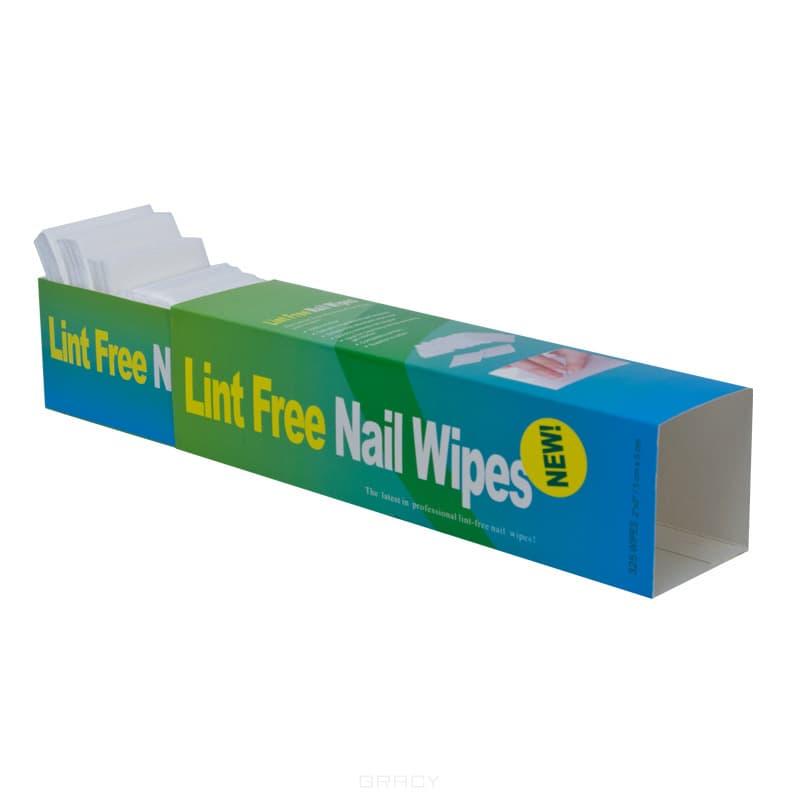 где купить Planet Nails, Салфетки безворсовые для маникюра, 325 шт/уп дешево