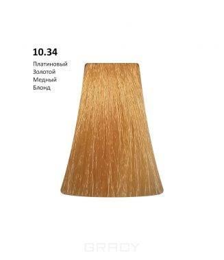 Купить BB One, Перманентная крем-краска Picasso Colour Range без аммиака (76 оттенков) 10.34Platinium Gold Copper Blond/Платиновый Золотой Медный Блонд