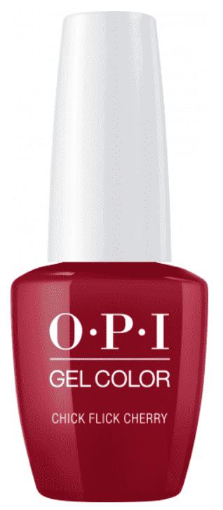 OPI, Гель-лак GelColor, 15 мл (95 цветов) Chick Flick Cherry beautix гель лак 120 15 мл