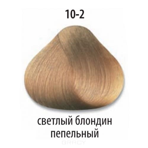 Constant Delight, Стойкая крем-краска для волос Delight Trionfo (63 оттенка), 60 мл 10-2 Светлый блондин пепельныйОкрашивание<br>Краска для волос Constant Delight Trionfo - это уникальное средство, способное придать волосам здоровый вид и блеск.<br>  <br>Крем-краска Трионфо от Констант Делайт наосится на невымытые сухие волосы. Выдерживается средство на волосах до 45 минут. <br> Constan...<br>