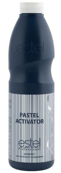 Estel, De Luxe Активатор для пастельного тонирования волос Эстель Pastel Activator 1,5%, 1 л estel de luxe активатор для краски для волос эстель activator 1 5