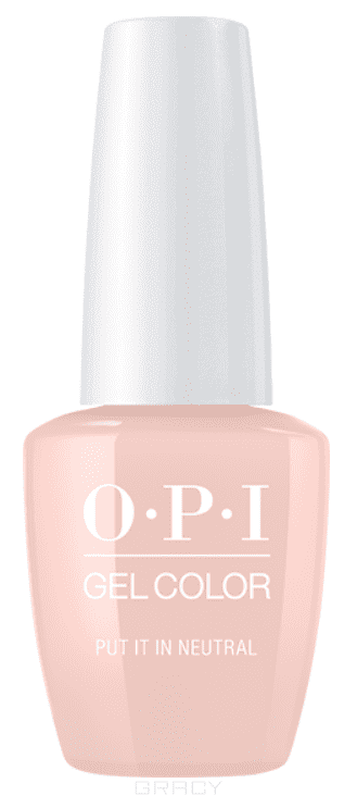 OPI, Гель-лак GelColor, 15 мл (95 цветов) Put It In Neutral opi гель лак gelcolor 15 мл 95 цветов do you have this color in stock holm