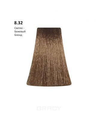 Купить BB One, Перманентная крем-краска Picasso (153 оттенка) 8.32Light Beige Blond/Светло-Бежевый Блондин