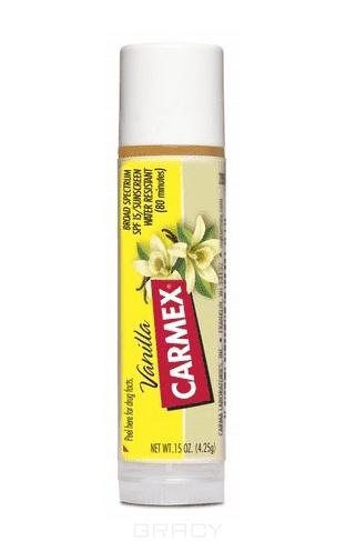 Бальзам для губ Ваниль Vanilla TwistЭтот бальзам борется не только с сухостью, шелушениями, потрескиванием губ, но и защищает их от неблагоприятных факторов - мороза, ветра и солнца. Он также применяется для лечения &amp;amp;quot;простуды&amp;amp;quot; на губах и как средство для снятия симптомов после укусов насекомых. Получил широкую популярность у визажистов, благодаря чудодейственному эффекту - моментально преображать губы перед показом или съемкой. &#13;<br> &#13;<br>  &#13;<br> &#13;<br>  Может применяться ежедневно&#13;<br> &#13;<br>  Не вызывает привыкания&#13;<br> &#13;<br>  Водостойкий&#13;<br> &#13;<br>  SPF15&#13;<br> &#13;<br>  Не тестируется на животных<br>
