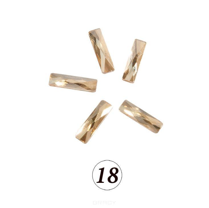 Купить Planet Nails, Цветные фигурные стразы в ассортименте (76 видов), 5 шт/уп Планет Нейлс №18