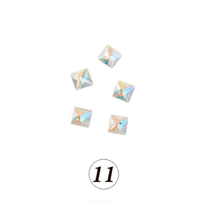 Купить Planet Nails, Цветные фигурные стразы в ассортименте (76 видов), 5 шт/уп Планет Нейлс №11
