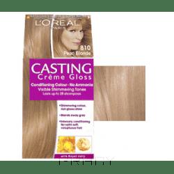 LOreal, Краска для волос Casting Creme Gloss (37 оттенков), 254 мл 810 Светло-русый перламутровыйОкрашивание<br><br>