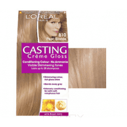 L'Oreal, Краска для волос Casting Creme Gloss (37 оттенков), 254 мл 810 Светло-русый перламутровый l oreal краска для волос casting creme gloss 37 оттенков 254 мл 8304 карамельный капучино
