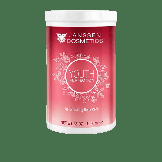 Janssen, Омолаживающее кремовое обертывание Клюква, 1 л janssen body gel pack омолаживающее гелевое обертывание с экстрактом клюквы 3 л