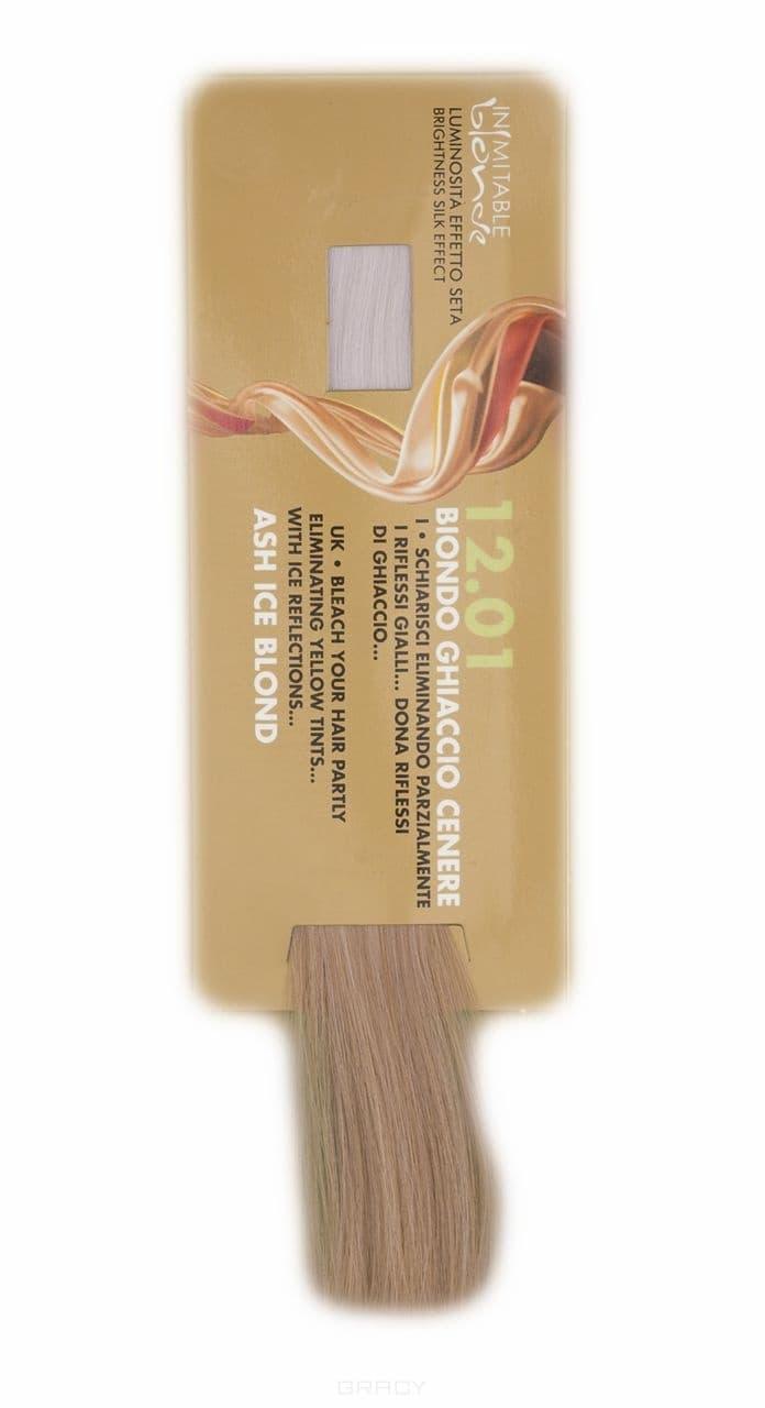 Hair Company, Крем-краска Супер-блондин Inimitable Blonde Coloring Cream, 100 мл (9 оттенков) 12.01 Супер-блондин прозрачно-пепельный be hair be color 12 minute superlight blonde краска для волос тон 11 0 супер светлый блондин натуральный 100 мл