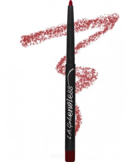 L.A. Girl, Автоматический карандаш для губ Endless Auto Lipliner, 2,8 гр (10 оттенков) Berries автоматический карандаш для губ тон 24 poeteq