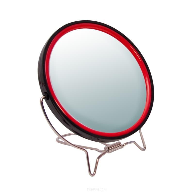 Planet Nails, Зеркало Titania двухстороннее, 125 ммЩеточки дл ногтей и другие аксессуары<br><br>