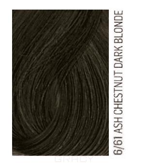 Lakme, Перманентная крем-краска для волос без аммиака Chroma, 60 мл (32 тона) 6/61 Темный блондин коричнево-пепельный schwarzkopf краситель без аммиака 3 62 темный коричневый шоколадный пепельный essensity permanent colour 60 мл
