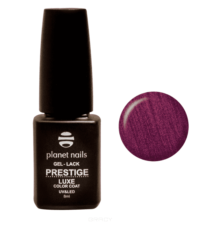 Planet Nails, Гель-лак Prestige Luxe Планет Нейлс, 8 мл (9 оттенков) 306 цена