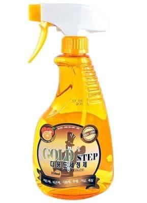Купить KPMS, Gold Step Multi-Purpose Cleaner Универсальное жидкое чистящее средство для дома с частицами золота, 1100 мл