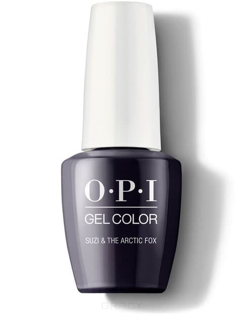 цена на OPI, Гель-лак GelColor, 15 мл (199 цветов) Suzi & the Arctic Fox / Iceland