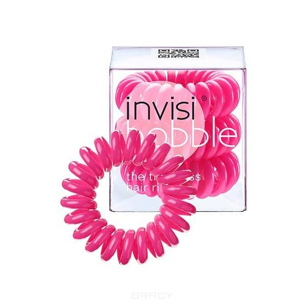 Invisibobble, Резинка для волос розовая Candy Pink (3 шт.) сопутствующие товары invisibobble something blue набор 3 шт