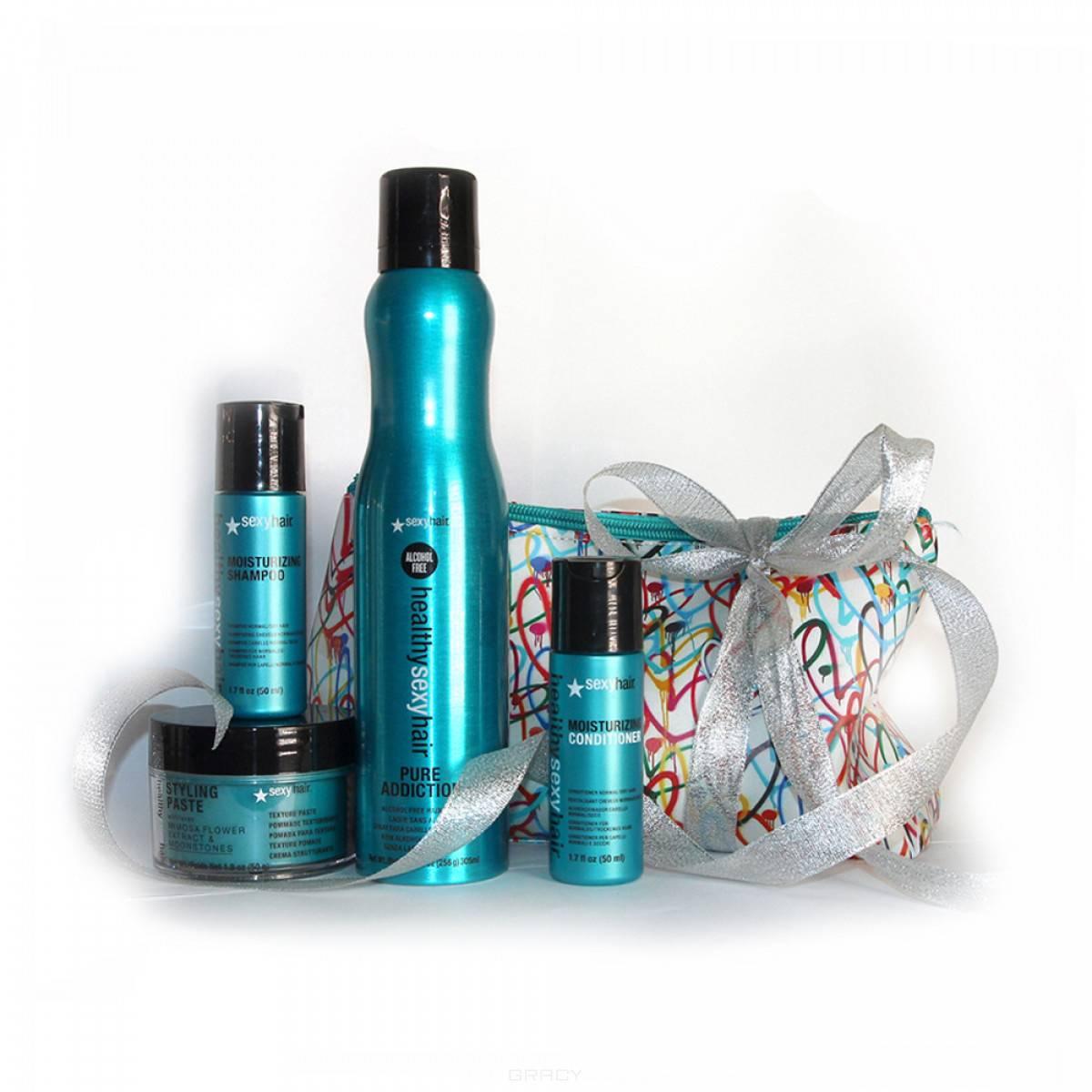 Купить Sexy Hair, Набор для ухода и создания укладки на коротких волосах Для ярких и дерзких, 3*50мл+305 мл